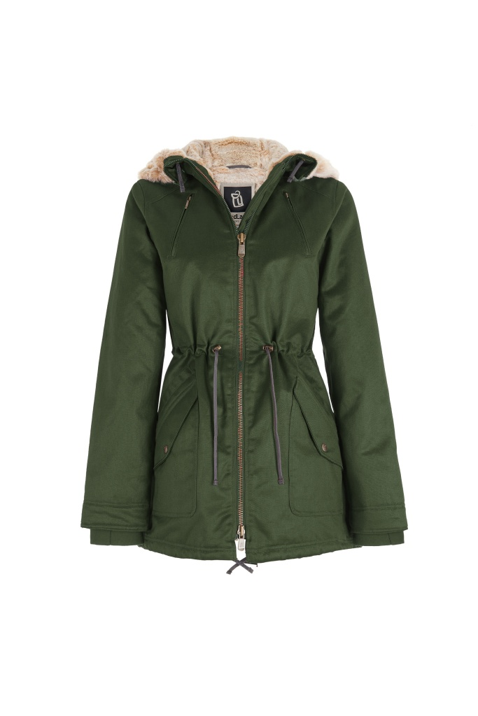 Hoodlamb Parka - Dark Army Green