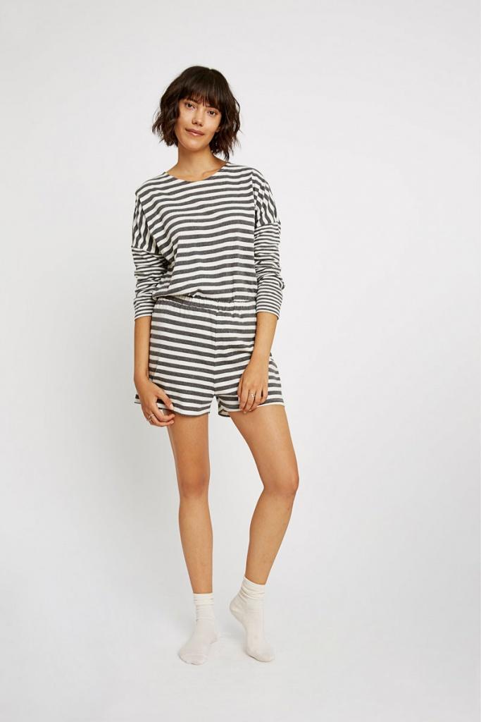 Stripe Pyjama Shorts