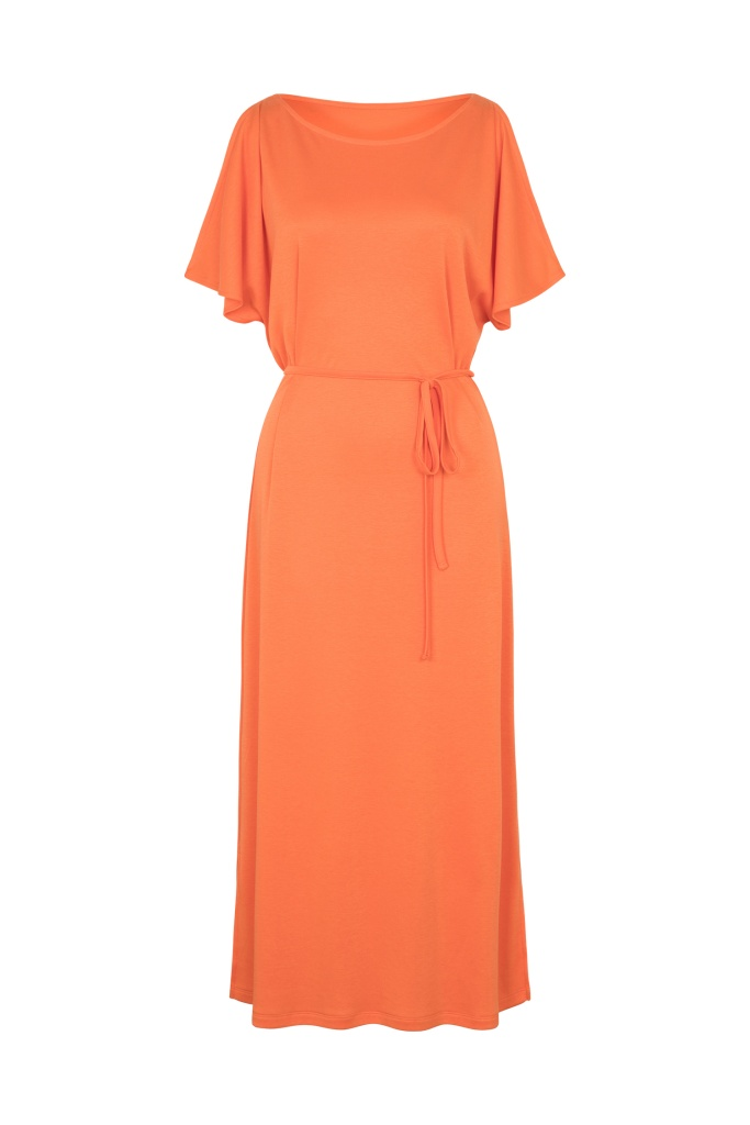 Victoria Dress - Dusty Orange