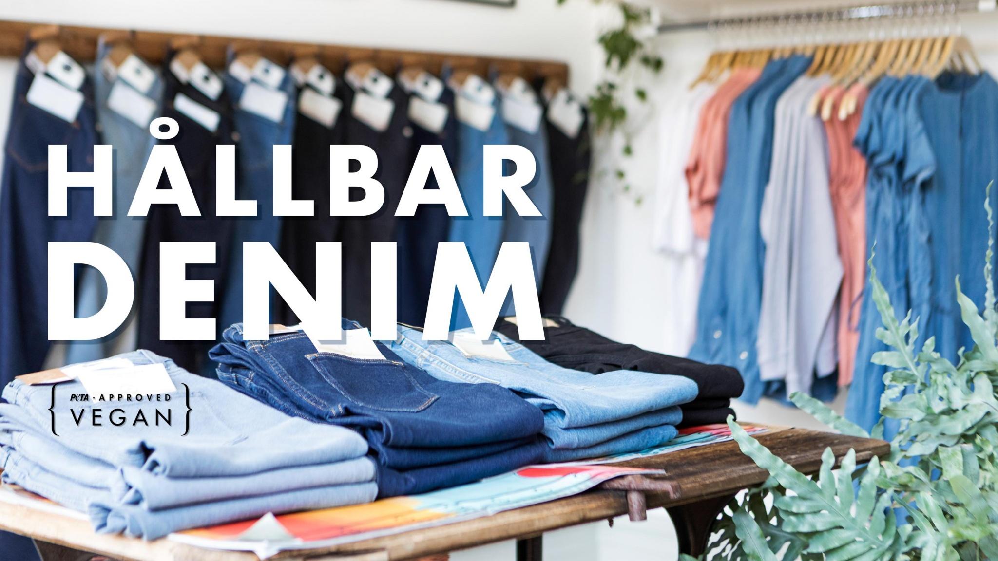 Hållbara jeans