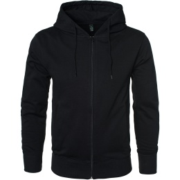 Masculine Fashion Zip Hood - Black - Earth Positive