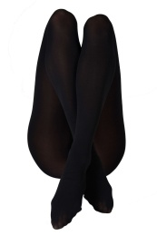 Lia - Black - Swedish Stockings