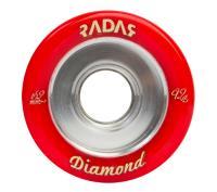 Radar Diamond 62mm, 92A Red