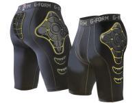 G-Form PRO-X Compression Shorts (Black/Yellow)