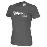 Kahalani t-shirt Lady logo Charcoal