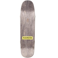 MAD 8.5 X-Ray White R7 Skateboard