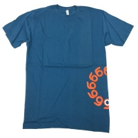 Orangatang t-shirt Wheels Blue