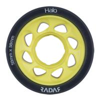 Radar Halo 59mm 91A Yellow