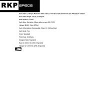 Surf Rodz RKP trucks 200mm (10mm) 50°