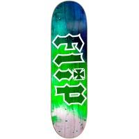 Flip 8.5  HKD Tie Dye Green Skateboard
