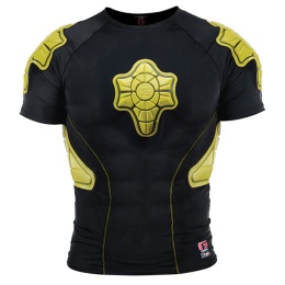G-Form Protective Compression Shirt Yellow