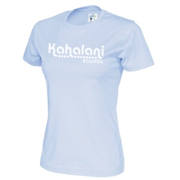 Kahalani t-shirt Lady logo Sky Blue