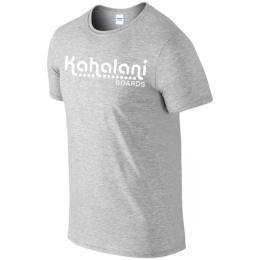 Kahalani t-shirt logo Sports Grey