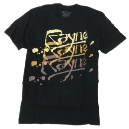 Rayne bamboo t-shirt Logo Blk