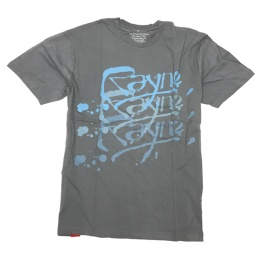 Rayne bamboo t-shirt Logo Grey