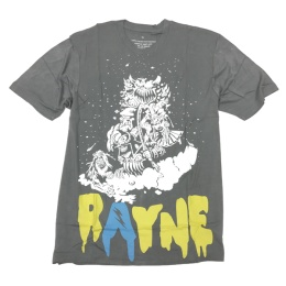 Rayne bamboo t-shirt Monster Grey
