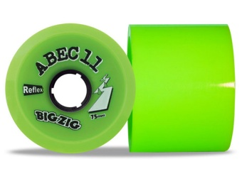 Abec11 75mm, 80A Bigzigs (Lime)