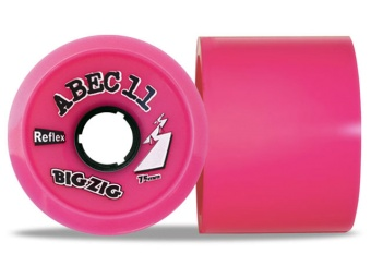 Abec11 75mm, 77A Bigzigs (Rosa)