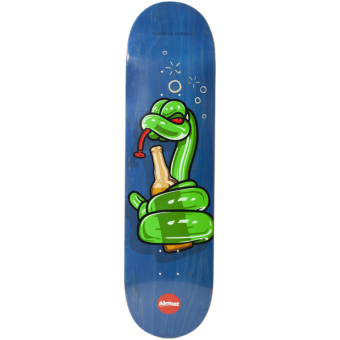 Almost 8.25 Balloon Animals Blue R7 Skateboard