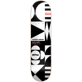 Almost 8.375 Youness Geometrix R7 Skateboard