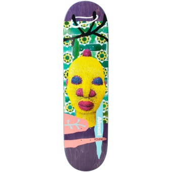 Almost 8.0 Youness African Mask R7 Skateboard
