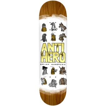 Antihero 8.75 Anderson usual suspects deck