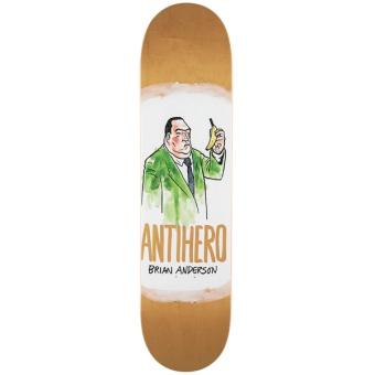 Antihero 8.12 Anderson Devolution Skateboard