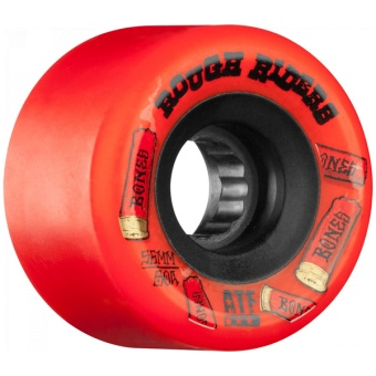 Bones Rough Riders 56mm Red ATF