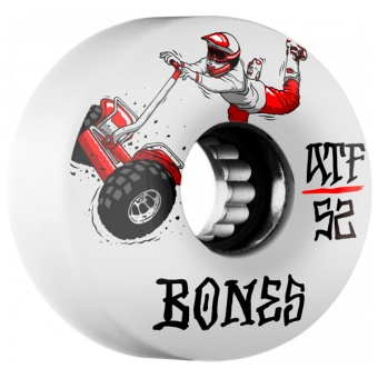 BONES SEG Cross 52mm (ATF) White
