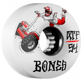 BONES SEG Cross 54mm (ATF) White