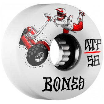 BONES SEG Cross 56mm (ATF) White
