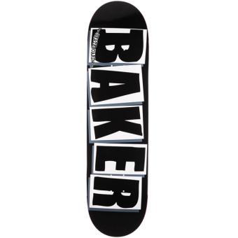 Baker 8.25 Brand Logo Black/White