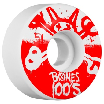 Bones 100's 51mm Red (OG)