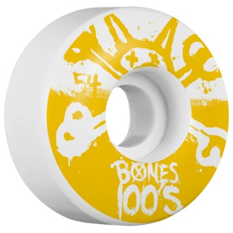 Bones 100's 54mm Yellow (OG)