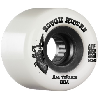 Bones Rough Rider 59mm White (ATF)