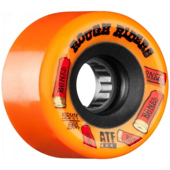 Bones Rough Riders 56mm Orange ATF
