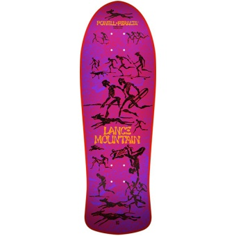 Bones Brigade® Lance Mountain 10th Series Reissue Skateboard Deck