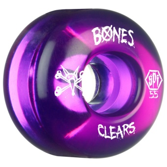 Bones Clear Purple 55mm (SPF)