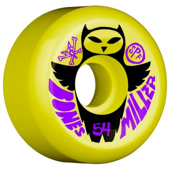 Bones Owl 54mm Yellow (SPF)