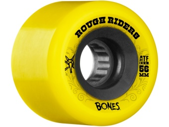 Bones Rough Rider 56mm Yellow (ATF)