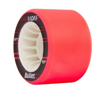 Radar Bullet 59mm, 91A Neon Pink