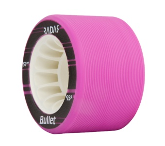 Radar Bullet 59mm, 93A Neon Purple