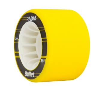 Radar Bullet 59mm, 88A Neon Yellow