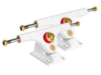 Caliber trucks 160mm 50° (White)