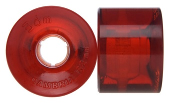 Seismic 62mm 80A Cambria (Röd)