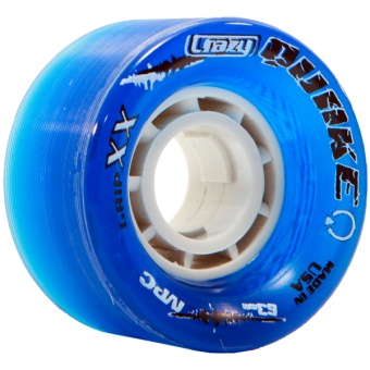 CrazySkates 63mm 92A Quake Blue