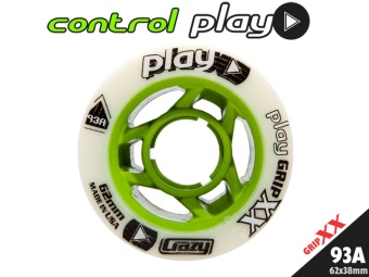 CrazySkates 62mm 93A CONTROL PLAY