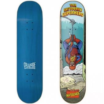 Cruzade 8.5 Superhero Skateboard