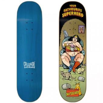 Cruzade 9.0 Superhero Skateboard