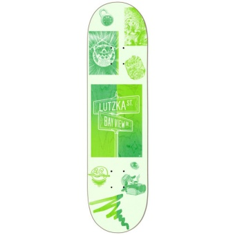 Darkstar 8.25 Cross Streets R7 Skateboard